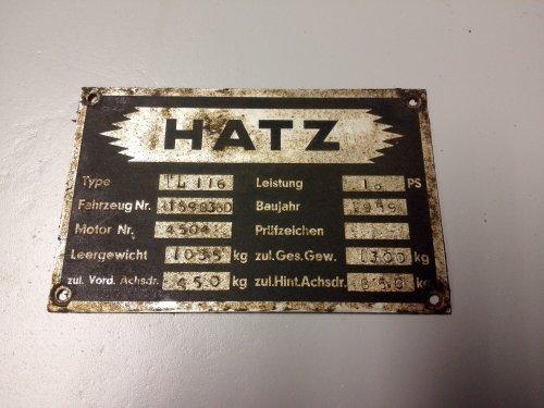 Hatz TL 13 van hooidonk