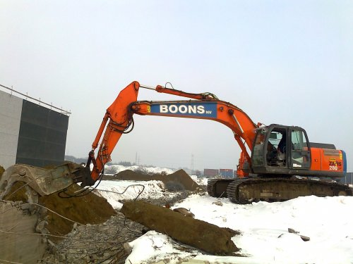 Hitachi Zaxis 280 van cat 330d