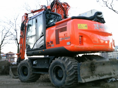 Hitachi Zaxis 170W van Jan F
