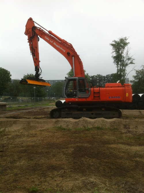 Hitachi EX 455 van Albert Peters