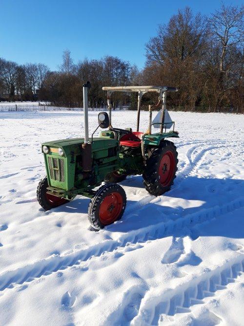 Foto van een Holder B 25. Geplaatst door holderb51 op 13-02-2021 om 16:32:08, op TractorFan.nl - de nummer 1 tractor foto website.