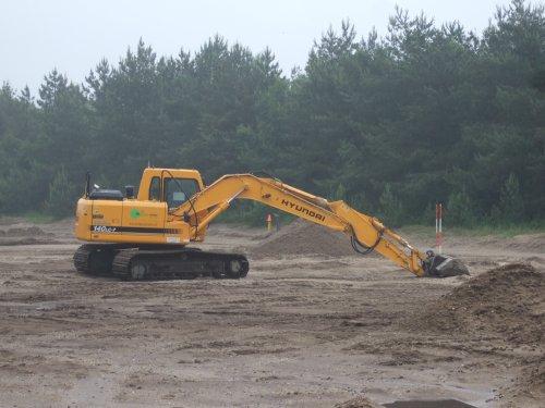 Hyundai 140-Lc7, op icp groen. Geplaatst door steven-jd-claas-fan op 11-06-2008 om 17:16:54, op TractorFan.nl - de nummer 1 tractor foto website.