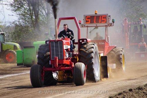 Trekkerslep marle 2017, gas op de lollie. Geplaatst door DennisWeerd op 24-04-2017 om 17:31:40, op TractorFan.nl - de nummer 1 tractor foto website.