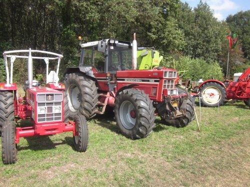 Foto van een International 1455. Geplaatst door jordi 1455 op 25-10-2018 om 20:38:47, op TractorFan.nl - de nummer 1 tractor foto website.