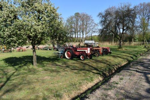 Foto van een International 323. Geplaatst door jordi 1455 op 18-05-2019 om 19:05:06, op TractorFan.nl - de nummer 1 tractor foto website.