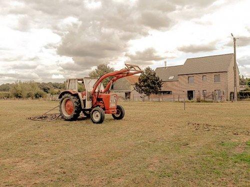 Foto van een International 523. Geplaatst door yarne-nys op 03-02-2020 om 13:34:08, op TractorFan.nl - de nummer 1 tractor foto website.
