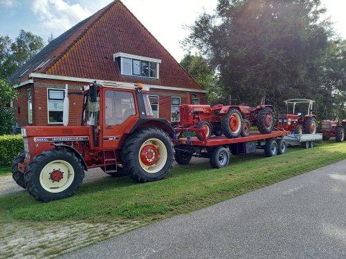 International 844 XL van wolseley