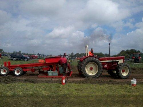 Foto van een International 1246, bezig met trekkertrekken. interdag 2013. Geplaatst door fendtinterfan op 23-06-2013 om 21:58:35, op TractorFan.nl - de nummer 1 tractor foto website.