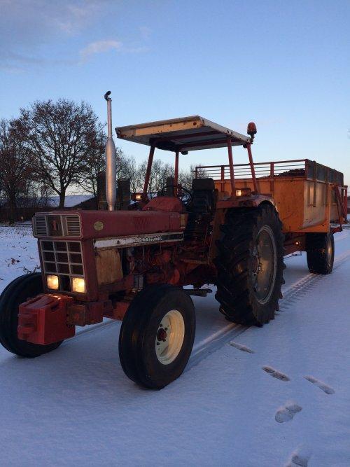 Winterweer! ????. Geplaatst door Michael G op 25-01-2015 om 08:50:39, op TractorFan.nl - de nummer 1 tractor foto website.