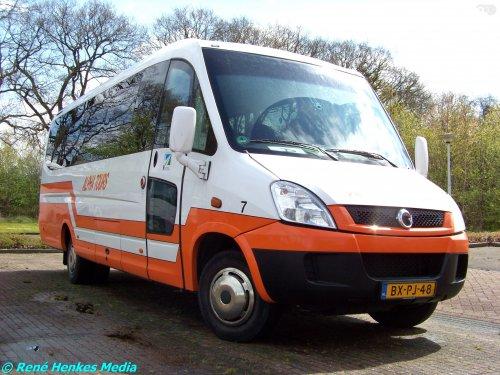 Irisbus touringcar van René