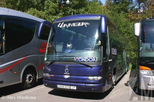 Irisbus touringcar van Alex Miedema