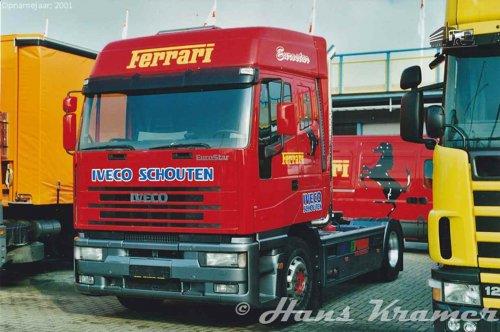 Iveco EuroStar van Hans Kramer