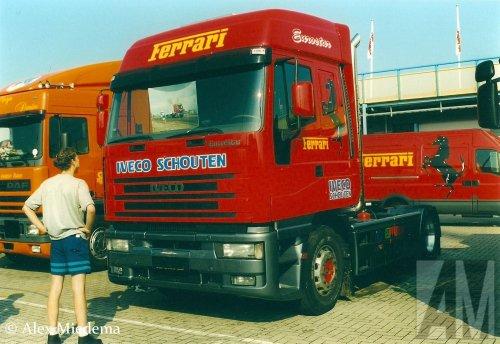 Foto van een Iveco EuroStar, opgebouwd voor truckpulling.. Geplaatst door Alex Miedema op 12-12-2015 om 15:58:58, op TractorFan.nl - de nummer 1 tractor foto website.