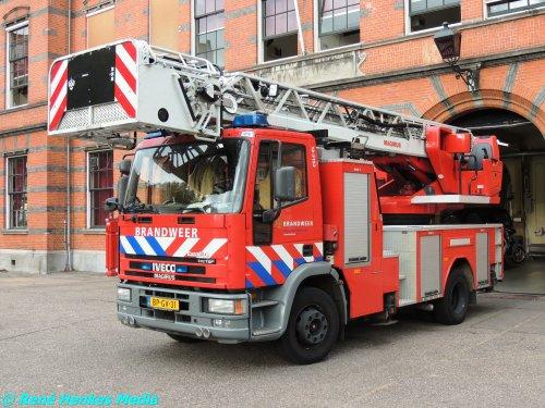 Foto van een Iveco-Magirus EuroFire, opgebouwd als brandweer.. Geplaatst door René op 24-10-2014 om 18:29:23, op TractorFan.nl - de nummer 1 tractor foto website.