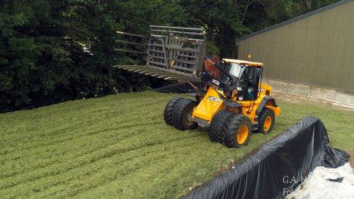Loonbedrijf de Bruin aan Tiel aan het kuilen met een JCB Shovel. Geplaatst door gypCaseXL op 03-06-2019 om 07:33:27, op TractorFan.nl - de nummer 1 tractor foto website.