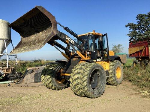 Foto van een JCB 416 S. Geplaatst door Abarth op 11-09-2016 om 10:52:17, op TractorFan.nl - de nummer 1 tractor foto website.