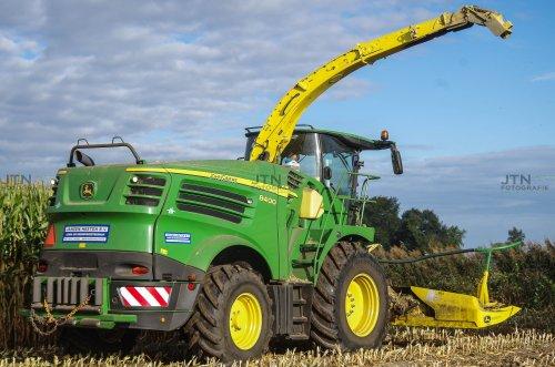 Het achter aan zicht van de 8400. - Jansen Heeten  Nu meer op: http://www.jtnfotografie.nl. Geplaatst door fendtvario op 11-12-2016 om 15:50:30, op TractorFan.nl - de nummer 1 tractor foto website.