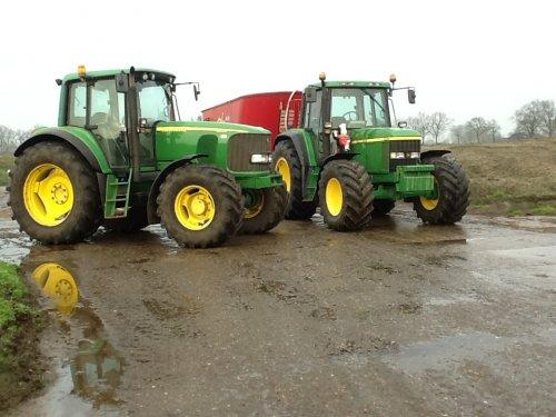 Foto van een John Deere 6520. Geplaatst door bram-van-ginkel op 14-12-2016 om 17:24:29, op TractorFan.nl - de nummer 1 tractor foto website.