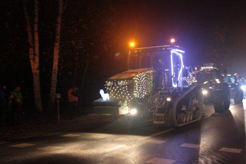 Foto van een John Deere 8360RT  Filmpje kerstparade Werchter DEEL II https://www.youtube.com/watch?v=IZCabsz9SD4