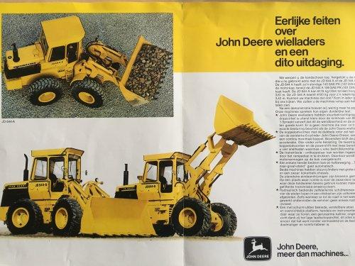 Foto van een John Deere Folder, uit den ouden doosch.... Geplaatst door Tom VB op 10-01-2017 om 20:07:42, op TractorFan.nl - de nummer 1 tractor foto website.