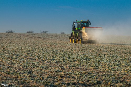 Current regenerative fertilization of winter oilseed rape  JOHN DEERE 9620 RX with the AMAZONE ZA-TS 4200 Fertilizer Spreader JOHN DEERE 8200 with the BERGMANN Grain Cart  more photos you can find also on  [url=https://www.flickr.com/photos/129661619@N08/]Flickr page[/url]   [url=https://www.facebook.com/DYNASTYphotography-204551272942391/]Facebook DYNASTYphotography[/url]   [url=https://www.instagram.com/lukaskralphoto/]instagram lukaskralphoto[/url]   [url=https://www.instagram.com/martin939king/]instagram martinking[/url]