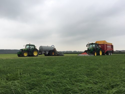 John Deere Meerdere van LandbouwLeistra