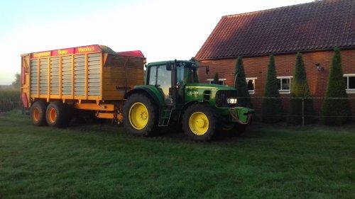 Foto van een John Deere 6830 van waaijenberg uit barneveld. Geplaatst door g-g op 14-09-2018 om 15:46:47, op TractorFan.nl - de nummer 1 tractor foto website.