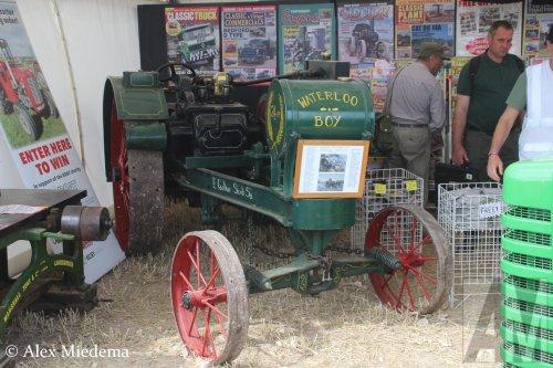 Foto van een John Deere Waterloo Boy   Meer foto's van tractoren op de 50e Great Dorset Steam Fair kun je op https://www.alexmiedema.nl/2018/11/20/tractoren-op-50th-great-dorset-steam-fair/ vinden.