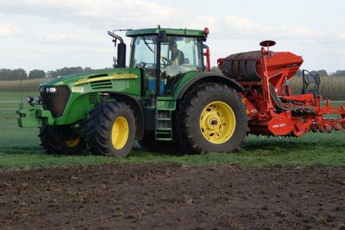 Foto van een John Deere 7720. Geplaatst door jans-eising op 25-01-2019 om 19:36:34, op TractorFan.nl - de nummer 1 tractor foto website.