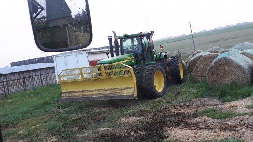 Foto van een John Deere 9220.. Geplaatst door andre-huizingh op 11-02-2019 om 14:59:57, op TractorFan.nl - de nummer 1 tractor foto website.