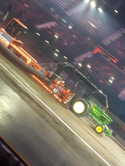 John Deere Tractorpulling van stijn-de-bock