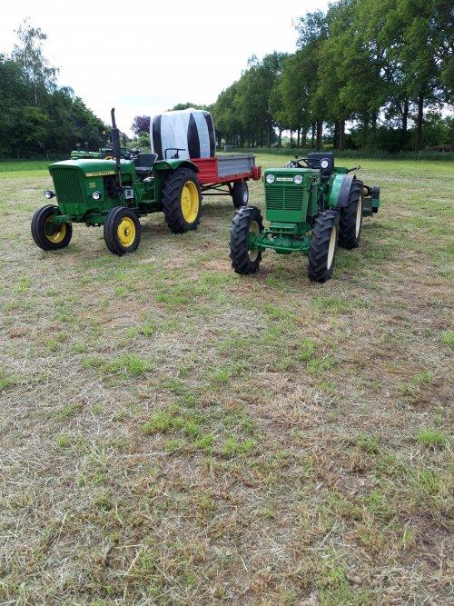 Foto van een John Deere Lanz 310 en Holder B 51. Geplaatst door holderb51 op 25-05-2019 om 22:02:18, op TractorFan.nl - de nummer 1 tractor foto website.