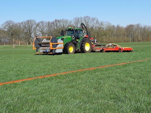 Foto van een John Deere 6175R. Geplaatst door cb6520 op 28-03-2020 om 20:19:03, op TractorFan.nl - de nummer 1 tractor foto website.