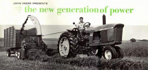 Foto van een John Deere 4010, bezig met gras hakselen. Prachtig toch! Vond dit in een oude PDF.. Geplaatst door StijnTheDeereDriver op 21-08-2010 om 23:55:04, met 3 reacties.