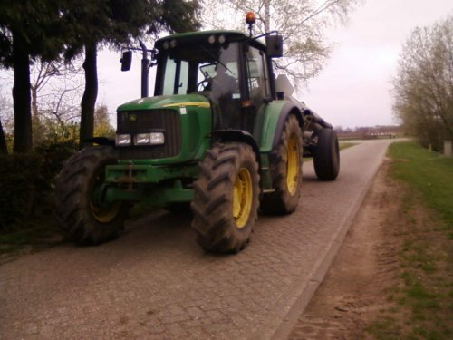 John Deere 5090R van ford8630turbo