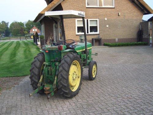 Foto van een John Deere 930.smalspoor. Geplaatst door teunutboerku op 15-11-2011 om 18:59:19, op TractorFan.nl - de nummer 1 tractor foto website.