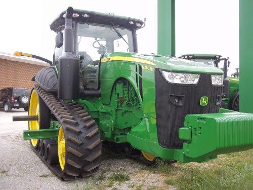 Right side John Deere 8360RT, bezig met poseren.. Geplaatst door marion5900 op 26-05-2012 om 05:30:42, op TractorFan.nl - de nummer 1 tractor foto website.