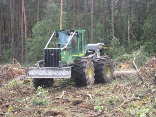 John Deere Bosbouw van jackie