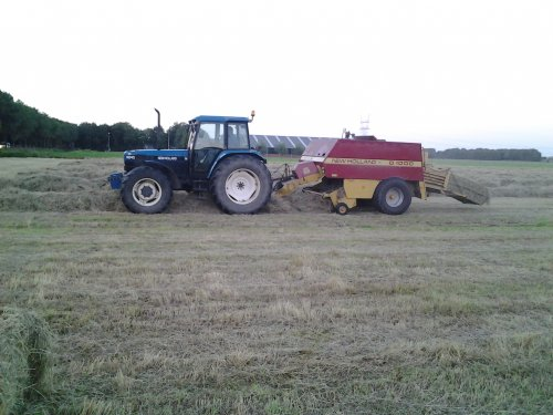 New Holland 8240 van deutz110