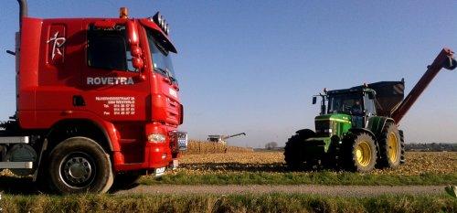 Foto van een John Deere 7810. Geplaatst door Jochem Verbeek op 28-02-2016 om 14:31:09, op TractorFan.nl - de nummer 1 tractor foto website.