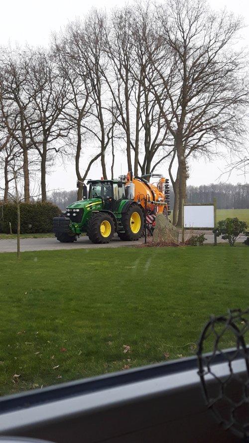 Foto van een John Deere 7930. Geplaatst door Alwin Groothuis op 10-03-2016 om 22:19:27, op TractorFan.nl - de nummer 1 tractor foto website.