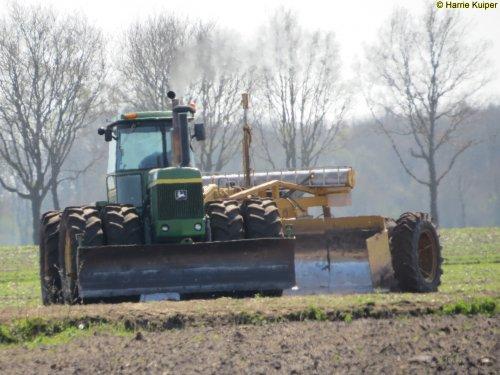 Foto van een John Deere 8630,  J. Mantingh uit Gieterveen.. Geplaatst door oldtimergek op 22-04-2016 om 15:09:29, op TractorFan.nl - de nummer 1 tractor foto website.