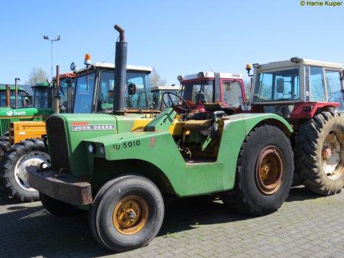 Foto van een John Deere 5010 , tractor handel Exloo.. Geplaatst door oldtimergek op 27-04-2016 om 00:24:04, op TractorFan.nl - de nummer 1 tractor foto website.