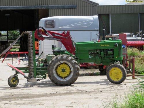 Foto van een John Deere 40 , oldtimerdag Oudebildtzijl 2016. Geplaatst door oldtimergek op 20-07-2016 om 08:23:37, op TractorFan.nl - de nummer 1 tractor foto website.