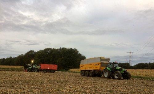 Foto van een Joskin Kipper en diversen.. Geplaatst door StijnTheDeereDriver op 25-10-2019 om 00:05:38, op TractorFan.nl - de nummer 1 tractor foto website.