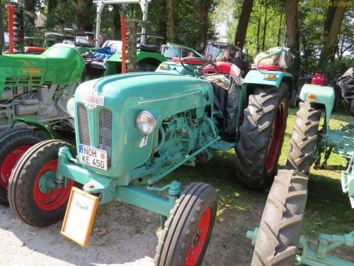 Foto van een Kramer 450 Export  , Wilsum dld 24-09-2017. Geplaatst door oldtimergek op 18-10-2017 om 15:20:06, op TractorFan.nl - de nummer 1 tractor foto website.