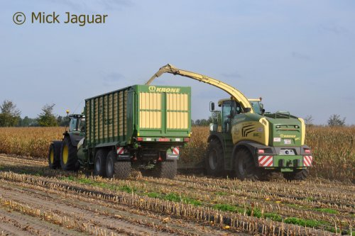 Krone Big X 580 van Mick Jaguar