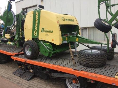 een persje die we in Nederland niet zo vaak zien, deze Bellima F130 is verkocht naar Zambia. Geplaatst door Loonwerker_Erwin op 12-02-2017 om 10:22:37, op TractorFan.nl - de nummer 1 tractor foto website.