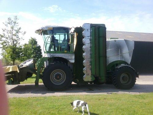 Foto van een Krone Prototype type 450. Geplaatst door selectford op 14-05-2017 om 10:46:51, op TractorFan.nl - de nummer 1 tractor foto website.