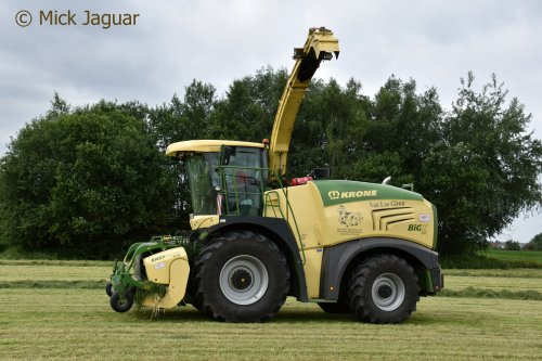Krone Big X 580 van Mick Jaguar